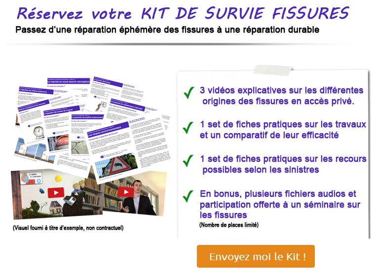 Kit de Survie Fissures Conseil Construction