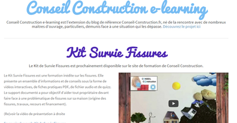 Kit De Survie Fissures Formation E Learning Conseil