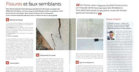 interview Dimag batiment fissures